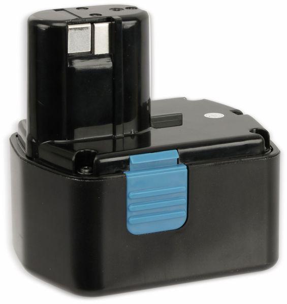 Werkzeugakku, für HITACHI, 14,4 V/2 Ah NiCd, EB1426H,EB1414,EB14S - Produktbild 1