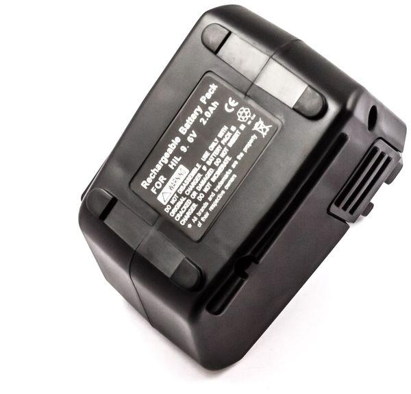 Werkzeugakku, für HILTI, 9,6 V/2 Ah, NiCd, SBP10, SFB105