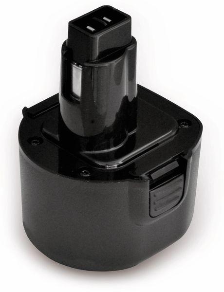 Werkzeugakku, für DEWALT, 9,6 V/2 Ah, NiCd, DE9036, DE9062, DW9061