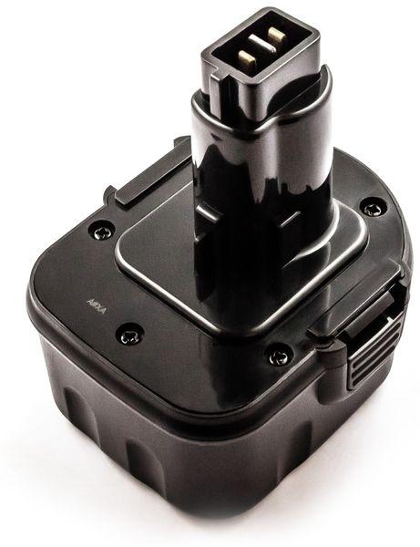 Werkzeugakku, für Black & Decker, Dewalt, ELU, Berner Werkzeuge, 12 V/3 Ah
