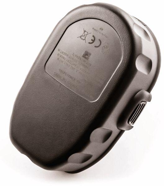 Werkzeugakku, für DEWALT, 18 V/2 Ah, NiMh, DE9039, DE9095, DE9096, DE9098