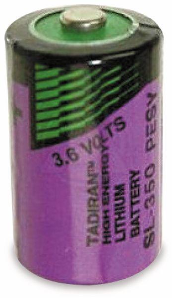 Lithium-Batterie TADIRAN, SL350, 3,6V, 1,2Ah, 1/2 AA