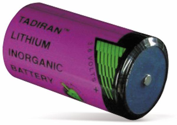 Lithium-Batterie TADIRAN,SL2780S, 3,6V, 19Ah, D (Mono)