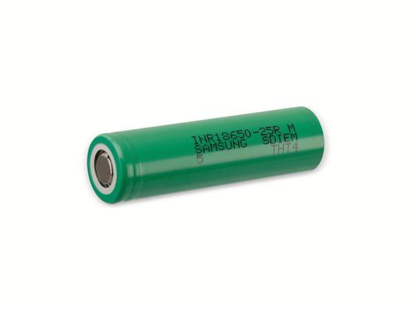 LiIon-Akku Samsung INR18650-25R 3,6V, 2,5Ah - Produktbild 1