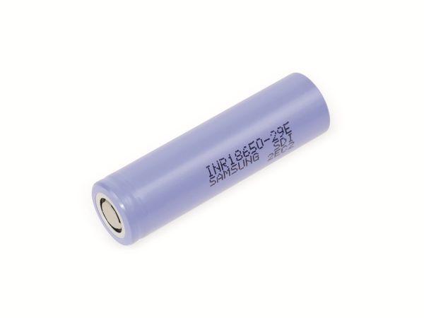 LiIon-Akku Samsung INR18650-29E 3,6V, 2,9Ah