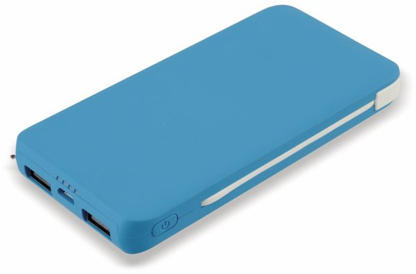 Powerbank, 5200 mAh, blau, B-Ware - Produktbild 1