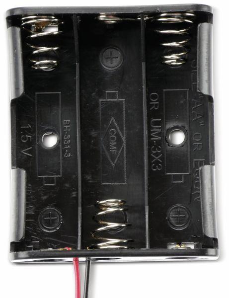 Batteriehalter für 3 Mignon, AA, mit Anschlußkabel - Produktbild 2