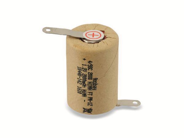 4/5-Sub-C-Zelle NiMH, 2000 mAh, 1,2 V - Produktbild 1
