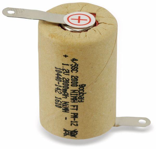 NiMH-4/5-Sub-C-Zelle GOOBAY, 2000 mAh, 1,2 V-