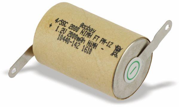 NiMH-4/5-Sub-C-Zelle GOOBAY, 2000 mAh, 1,2 V- - Produktbild 3