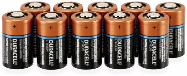 Lithium-Fotobatterie,DURACELL, Ultra Lithium, CR2, 3V, 10 Stück - Produktbild 1