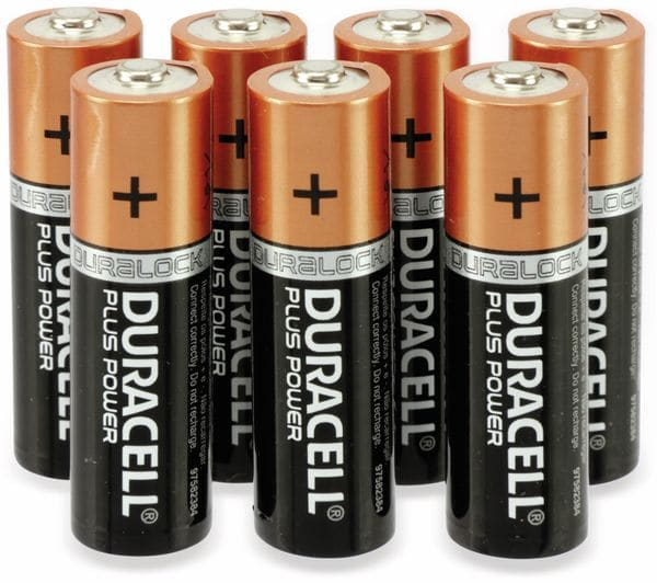 Mignon-Batterie, DURACELL, DURALOCK, PLUS POWER, 12 Stück - Produktbild 2