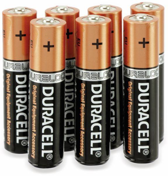 Micro-Batterie, DURACELL, DURALOCK, PLUS POWER, 24 Stück - Produktbild 2