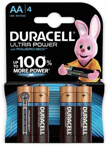 Mignon-Batterien DURACELL ULTRA POWER, 4 Stück