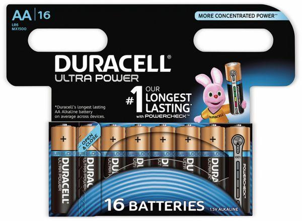 Mignon-Batterien DURACELL ULTRA POWER, 16 Stück