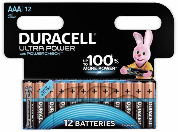 Micro-Batterien DURACELL ULTRA POWER, 12 Stück