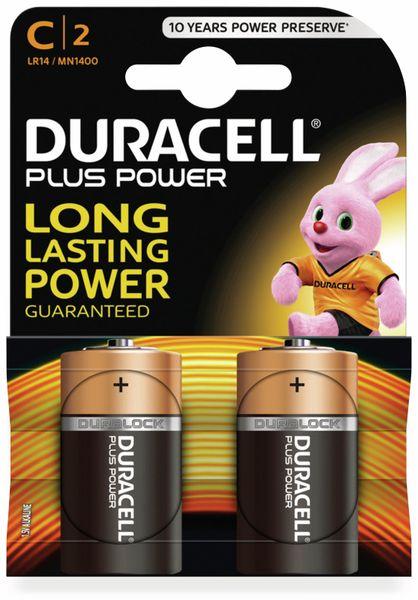 Baby-Batterien DURACELL PLUS POWER, 2 Stück