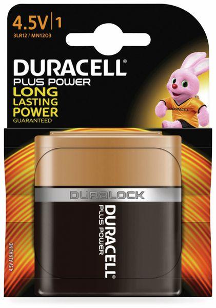 Flachbatterie DURACELL PLUS POWER, 1 Stück