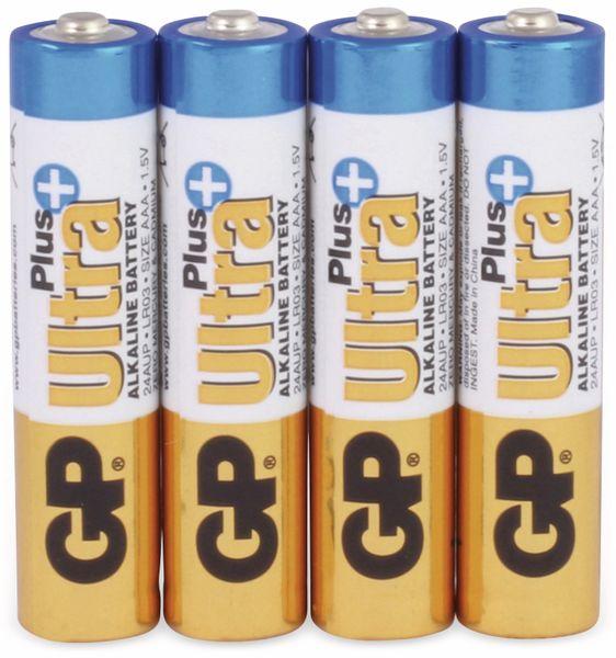 Micro-Batterien GP ULTRA PLUS ALKALINE, 4 Stück - Produktbild 1