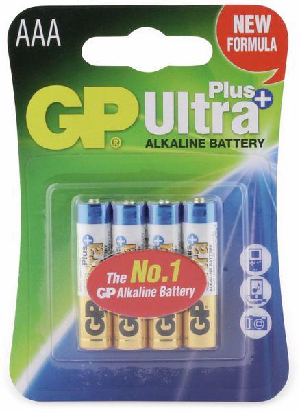 Micro-Batterien GP ULTRA PLUS ALKALINE, 4 Stück - Produktbild 5