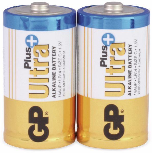 Baby-Batterien GP ULTRA PLUS ALKALINE, 2 Stück - Produktbild 1