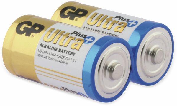 Baby-Batterien GP ULTRA PLUS ALKALINE, 2 Stück - Produktbild 2