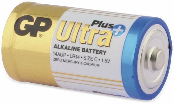 Baby-Batterien GP ULTRA PLUS ALKALINE, 2 Stück - Produktbild 3