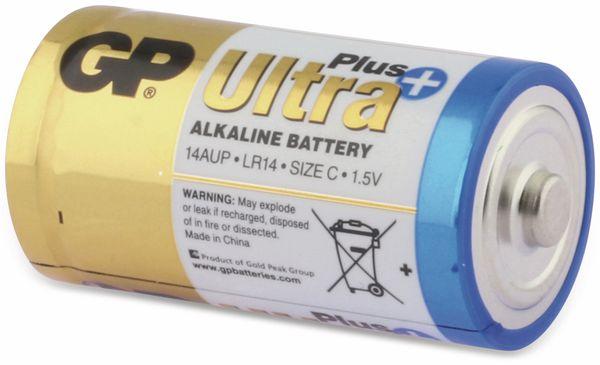 Baby-Batterien GP ULTRA PLUS ALKALINE, 2 Stück - Produktbild 4