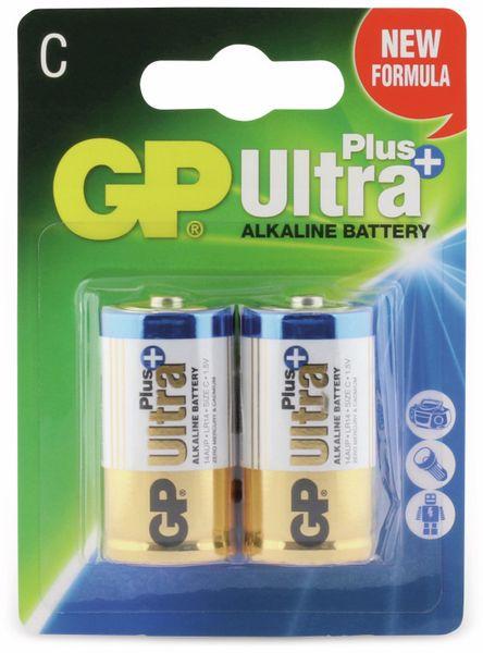 Baby-Batterien GP ULTRA PLUS ALKALINE, 2 Stück - Produktbild 5