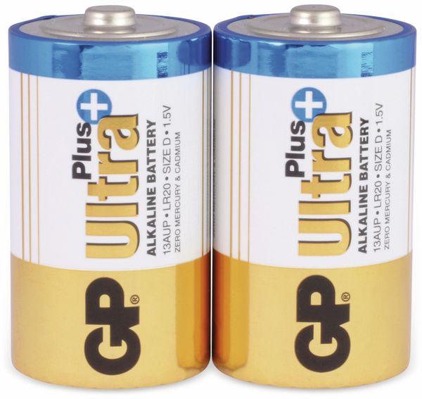 Mono-Batterien GP ULTRA PLUS ALKALINE, 2 Stück - Produktbild 1