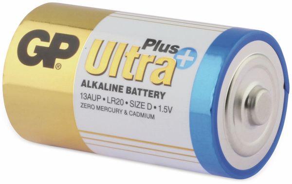 Mono-Batterien GP ULTRA PLUS ALKALINE, 2 Stück - Produktbild 3