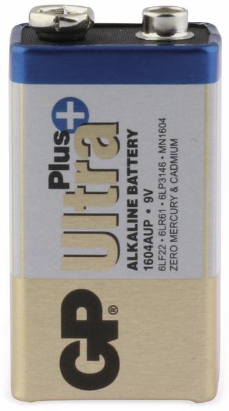 9V-Blockbatterie GP ULTRA PLUS ALKALINE, 1 Stück - Produktbild 1