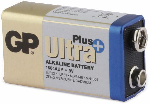 9V-Blockbatterie GP ULTRA PLUS ALKALINE, 1 Stück - Produktbild 3