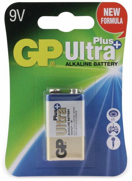 9V-Blockbatterie GP ULTRA PLUS ALKALINE, 1 Stück - Produktbild 4