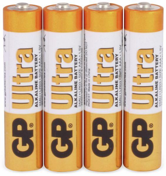 Micro-Batterien GP ULTRA ALKALINE, 4 Stück - Produktbild 1