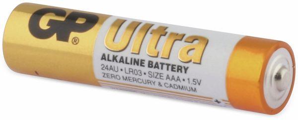 Micro-Batterien GP ULTRA ALKALINE, 4 Stück - Produktbild 3