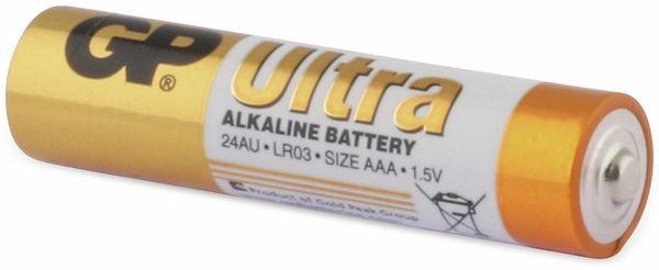 Micro-Batterien GP ULTRA ALKALINE, 4 Stück - Produktbild 4