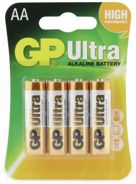 Mignon-Batterien GP ULTRA ALKALINE, 4 Stück - Produktbild 5
