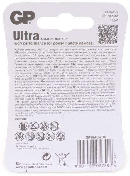 Mignon-Batterien GP ULTRA ALKALINE, 4 Stück - Produktbild 6