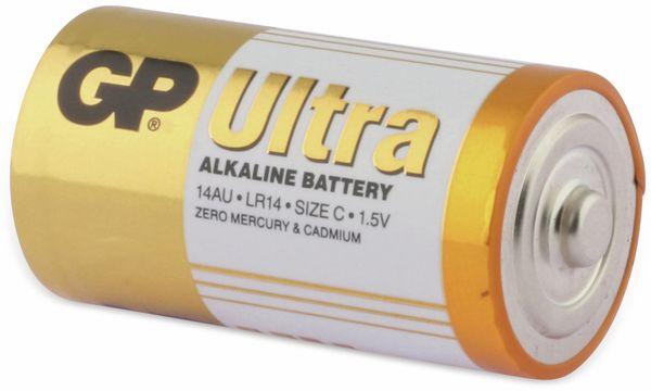 Baby-Batterien GP ULTRA ALKALINE, 2 Stück - Produktbild 3