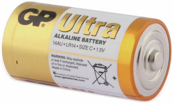 Baby-Batterien GP ULTRA ALKALINE, 2 Stück - Produktbild 4