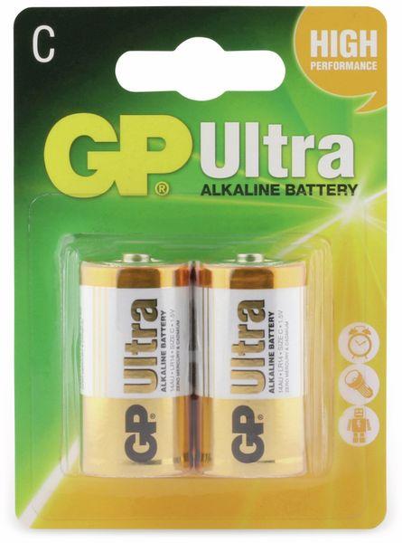 Baby-Batterien GP ULTRA ALKALINE, 2 Stück - Produktbild 5