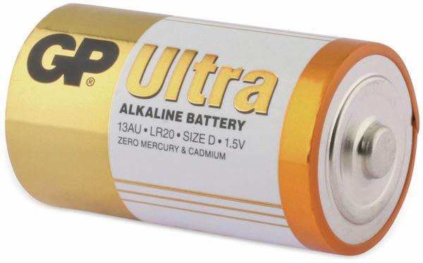 Mono-Batterien GP ULTRA ALKALINE, 2 Stück - Produktbild 3