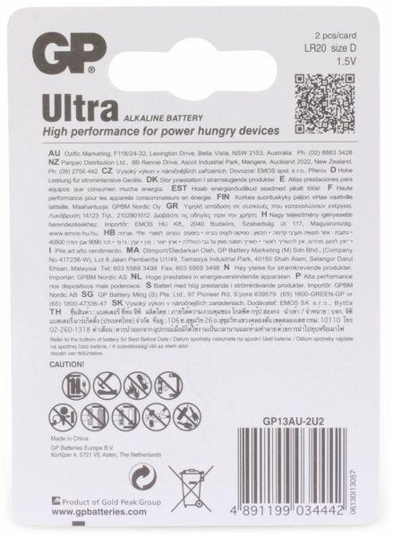 Mono-Batterien GP ULTRA ALKALINE, 2 Stück - Produktbild 6