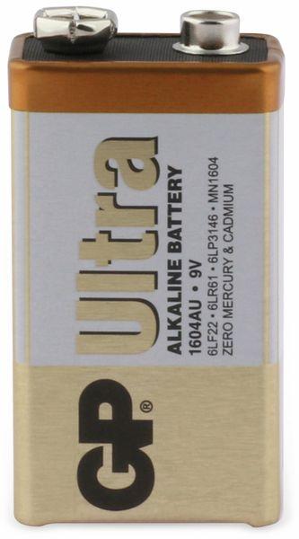 9V-Blockbatterie GP ULTRA ALKALINE, 1 Stück - Produktbild 1