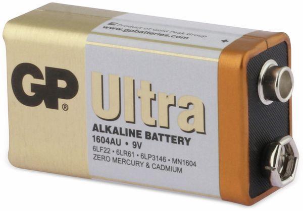 9V-Blockbatterie GP ULTRA ALKALINE, 1 Stück - Produktbild 2