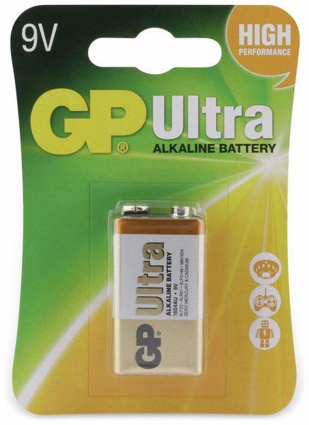 9V-Blockbatterie GP ULTRA ALKALINE, 1 Stück - Produktbild 4