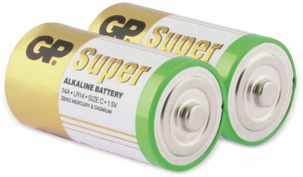 Baby-Batterie-Set GP SUPER Alkaline 2 Stück - Produktbild 1