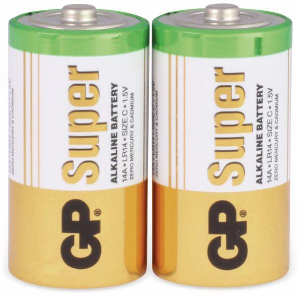 Baby-Batterie-Set GP SUPER Alkaline 2 Stück - Produktbild 2
