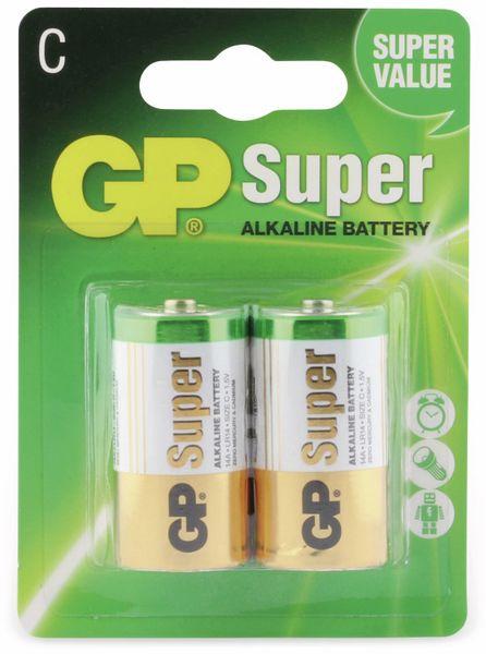 Baby-Batterie-Set GP SUPER Alkaline 2 Stück - Produktbild 5